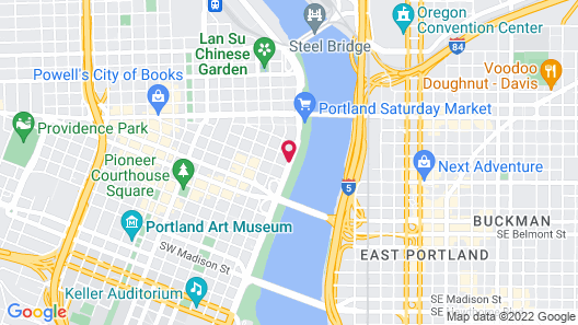 WorldMark Portland - Waterfront Park Map