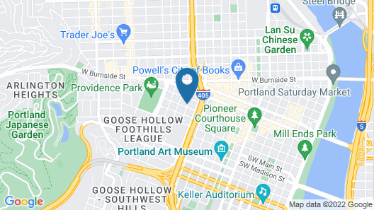 Hotel deLuxe Map