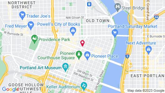 Kimpton Hotel Vintage Portland Map