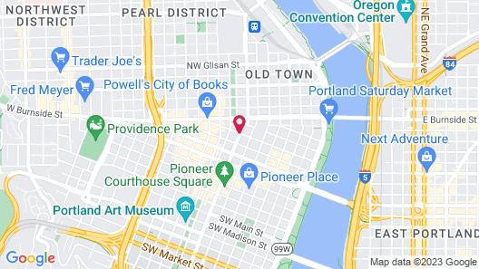 The Benson Portland, Curio Collection by Hilton Map