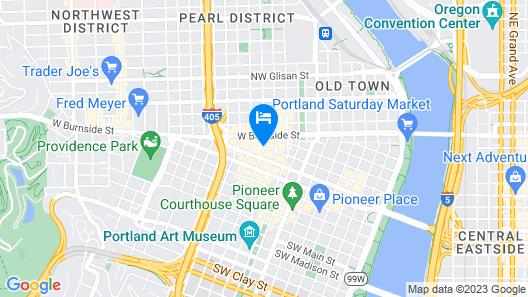 Mark Spencer Hotel Map