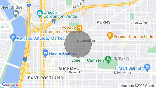 Modern, Dog-friendly Condo in a Fantastic Location Near Dining & Shopping Map