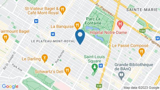 leQube Apartments Map