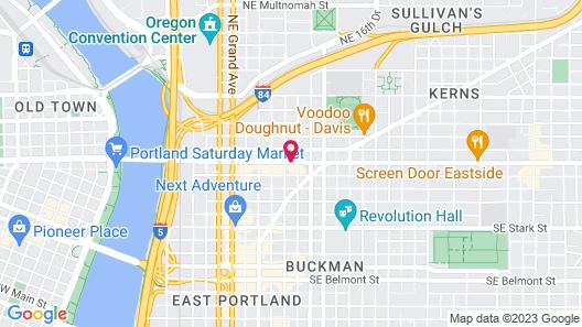 Eastside Lodge Map