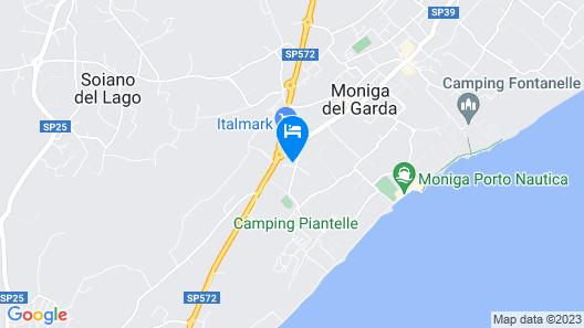 Villa Armonia del Garda Map