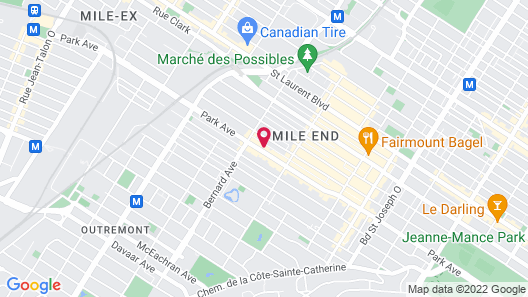 Parc Avenue Residence Mile End Map