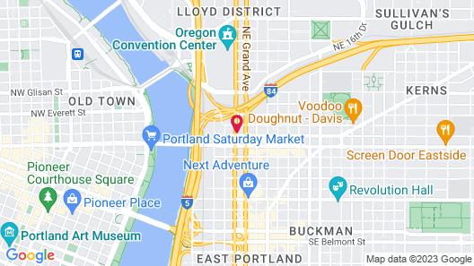 KEX Portland Map