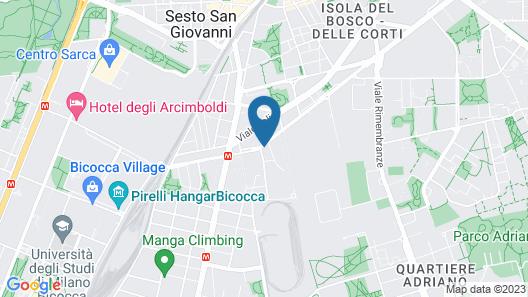 NH Milano Concordia Map