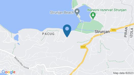 Vila Maia Map