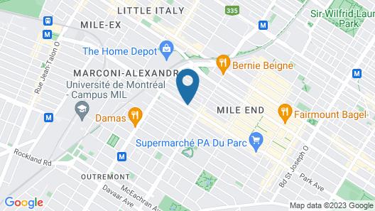 Parc Avenue Lofts Map