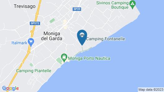 Villa Paradiso Suite Map