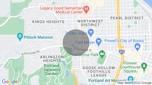 NW 23rd/uptown Look-out Map