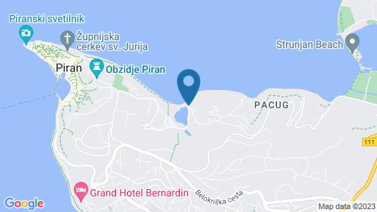 Hotel Barbara Piran Beach & Spa 3* SUPERIOR Map