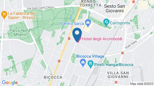 Hotel Degli Arcimboldi Map