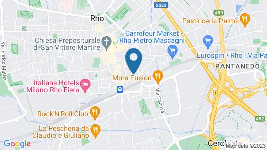 B&B La Terrazza Map