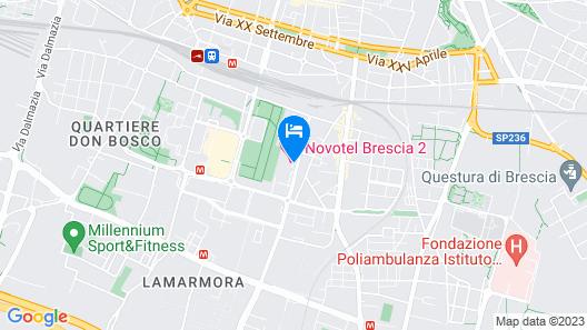 Novotel Brescia 2 Map