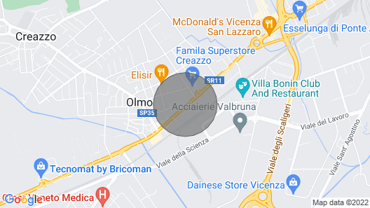 Vicenza renovated apartment Map