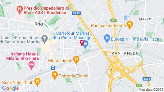 Expo Residence Rho Map