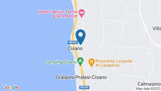 Sisan Family Resort Map