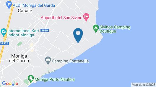 Sereno Camping Holiday Map