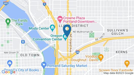 Hyatt Regency Portland at the Oregon Convention Center Map