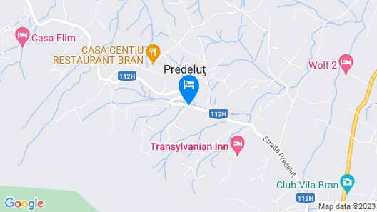 Hotel Bran Belvedere Map