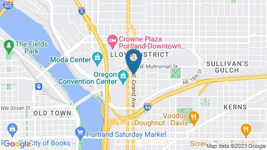 Hotel Eastlund Map