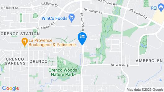 Staybridge Suites Hillsboro - Orenco Station, an IHG Hotel Map