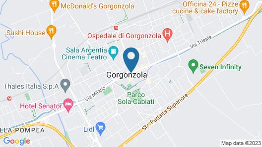 Hotel Italia 30 Map