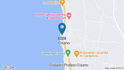 Hotel Bel Sito Bardolino Map