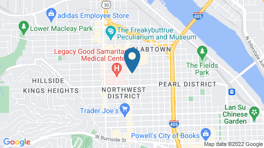 Inn at Northrup Station Map