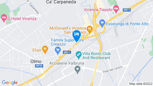 AC Hotel Vicenza by Marriott Map