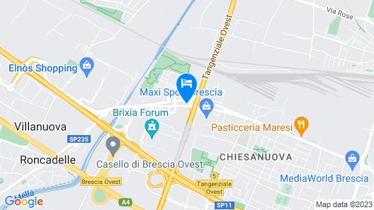 Hotel Fiera di Brescia Map