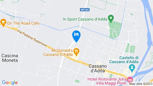 Park Hotel Cassano Map
