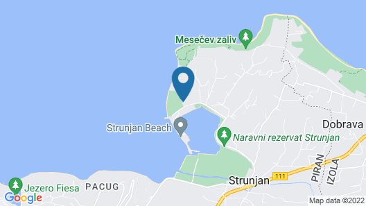 Apartments Laguna - Terme Krka Map