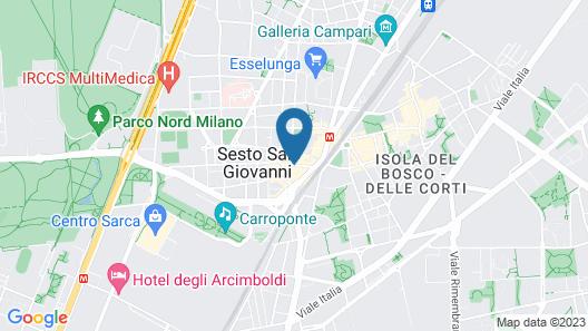 Hotel Europa Map