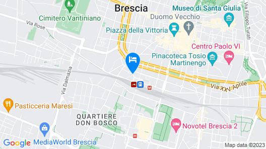 Hotel Igea Map