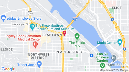 The Apple Theory Downtown Portland Map