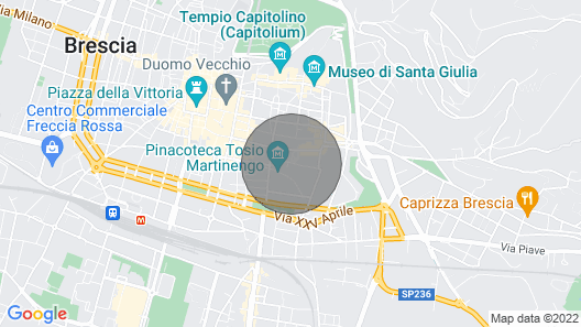 Art Gallery Apartment: Historical House in Brescia City Center Map