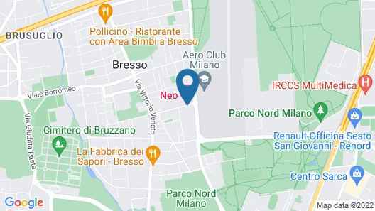NEO Hotel Map