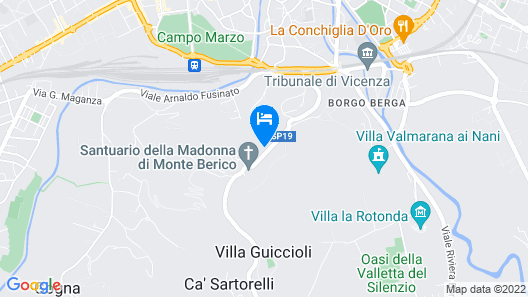 Albergo San Raffaele Map