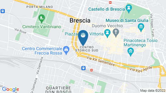 Bed and Breakfast Corso Matteotti 62 Map