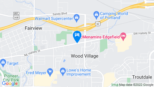 Best Western Plus Cascade Inn & Suites Map