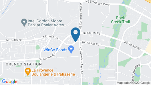 SpringHill Suites by Marriott Portland Hillsboro Map