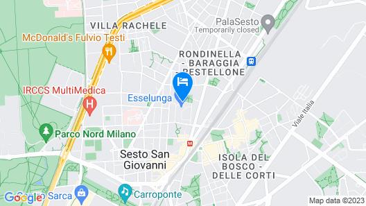 Grand Hotel Barone Di Sassj Map