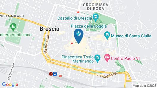 Hotel Vittoria Map
