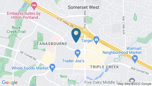 Residence Inn by Marriott Portland Hillsboro Map