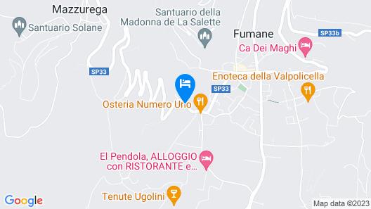 Villa Della Torre Map