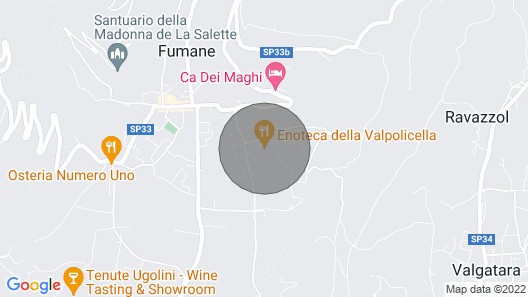 Cottage olivella in Valpolicella Map