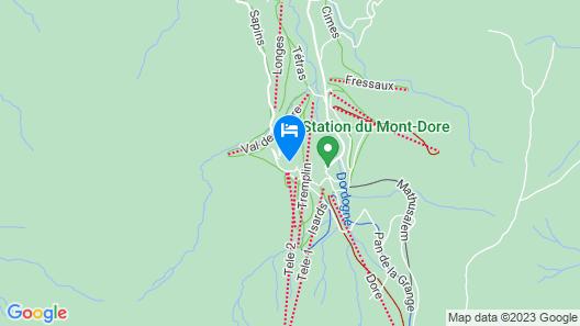 Le Puy Ferrand Map